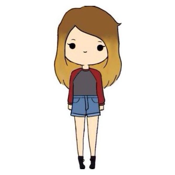 Chibis ❤ liked on Polyvore featuring fillers, chibis, anime, backgrounds, doodles and scribble