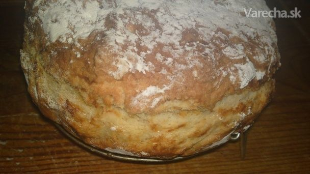 Írsky chlieb zo špaldovej múky - nemiesený, nekysnutý a rýchly (fotorecept)