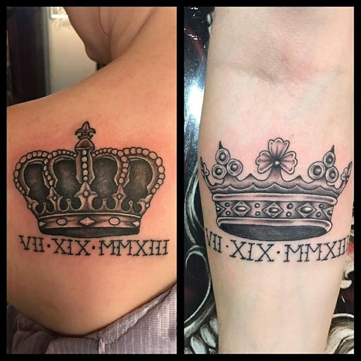 9 best crown tattoo images on pinterest crown tattoos for Bloody ink tattoo price