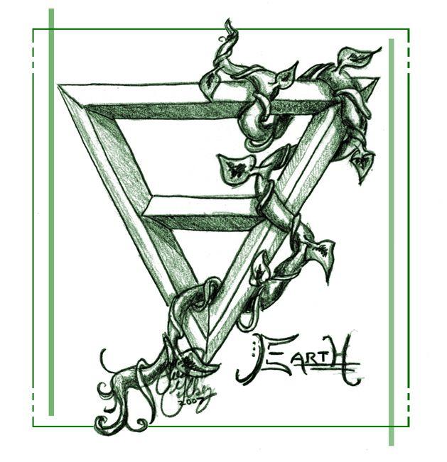 "Elements Earth:  ""Element: Earth,"" by kaleeko, at deviantART."
