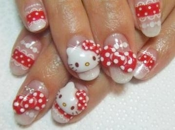 I love how these nails are 3D.