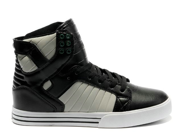 2012 New Supra Skytop In Black Beige White