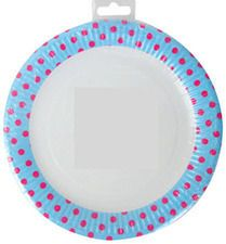 Contrast spotty paper plates. Twig and Pony: Kids and Baby Prams, Cots, Clothing and Toys for Sale in Essendon