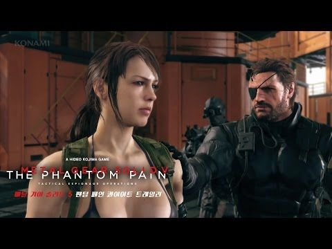 Metal Gear Solid V The Phantom Pain 'Quiet But Not Silent'