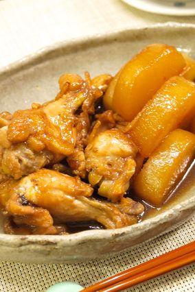 【佐渡産コシヒカリ朱鷺と暮らす郷】ご飯が進む!手羽元と大根♪こってり&さっぱり煮|レシピブログ