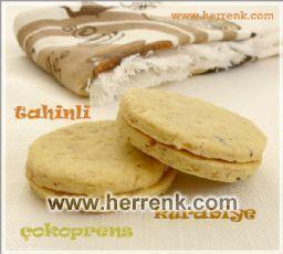 Tahinli çokoprens kurabiye tattınız mı?