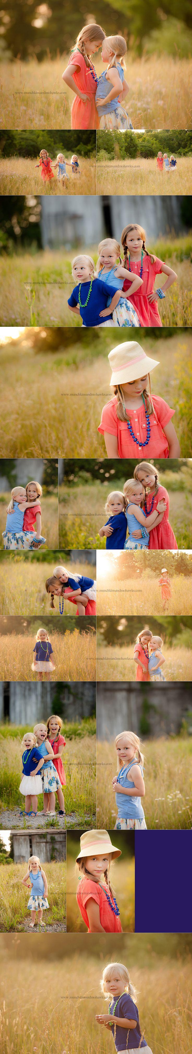 three little girl sisters www.munchkinsandmohawks.com/blog