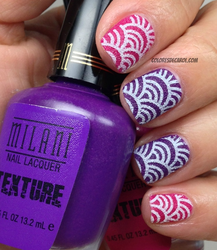 Milani Texture with stamp