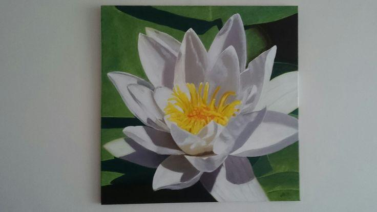 Mijn eerste schilderij in acryl