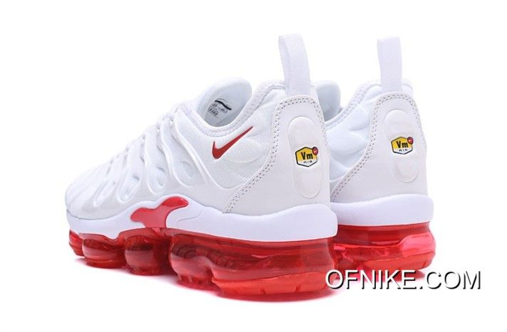 New Year Deals Nike Air VaporMax TN Plus White Red, Price: $95.24 ...