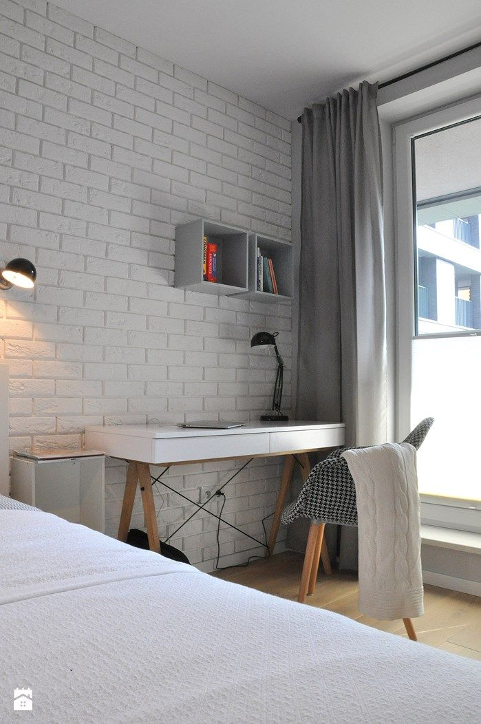 Nadwiślańska / mieszkanie podróżniczki - zdjęcie od NIESKROMNE PROGI - Sypialnia - Styl Skandynawski - NIESKROMNE PROGI