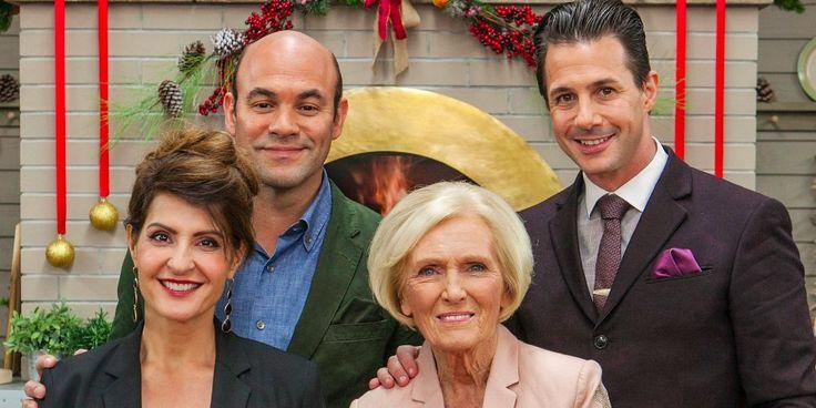 The Great American Baking Show - Mary Berry, Johnny Iuzzini, Nia Vardalos and Ian Gomez