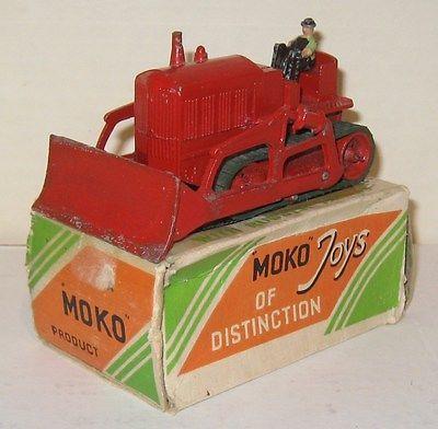 Moko Lesney, Tractor Crawler Dozer, Boxed, Made in England