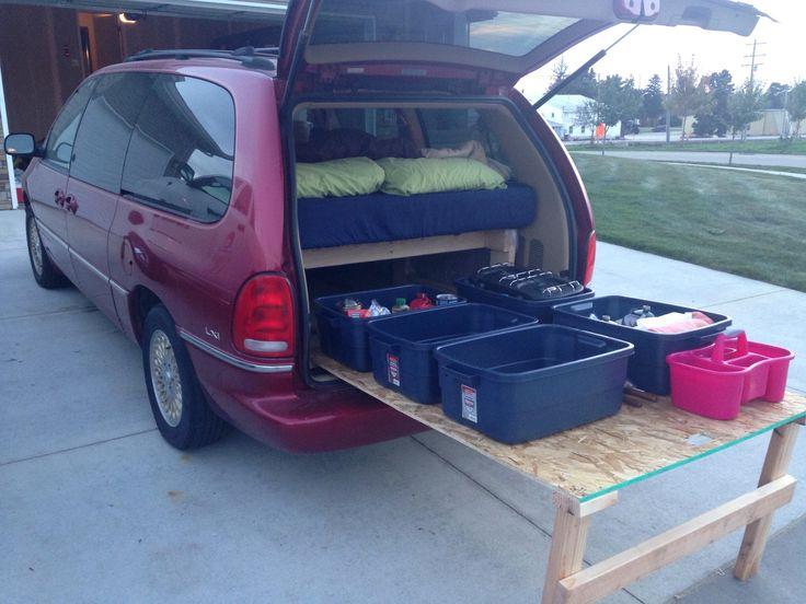 minivan camper - Google Search