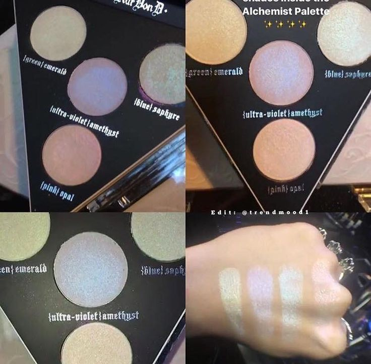 Alchemist Palette ... By ❥Kat Von D ❥Beauty❥..4 Transformer Shades that Can Be Used on Eyeshadow, Lips or Just as a Highlight...Available in December 2016