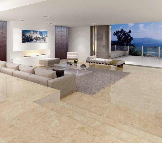 Crema Marfile на полу #design #marble #granite #красота #дизайнинтерьера #натуральные камни