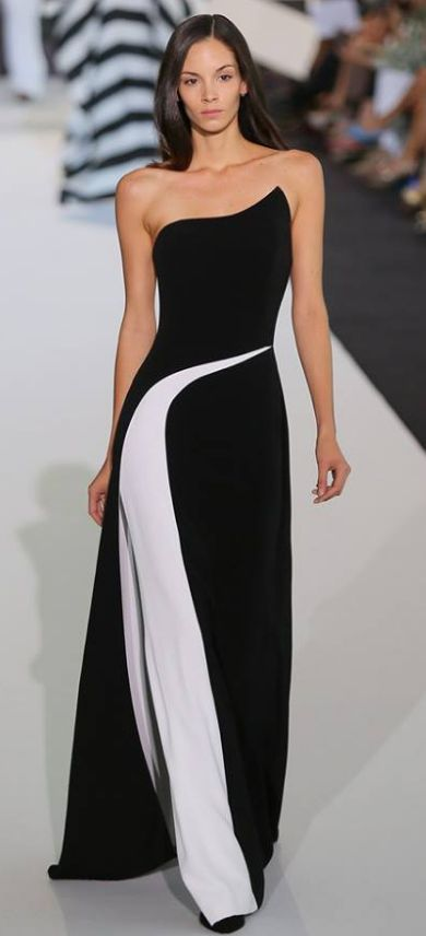 17 Best ideas about Black White Dresses on Pinterest | Black white ...