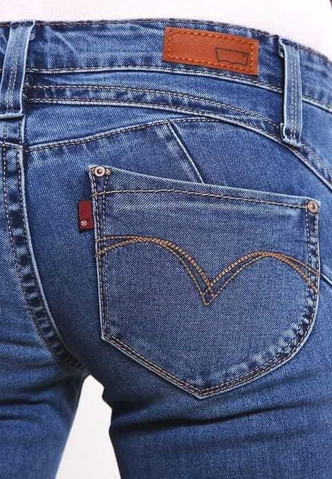 Levi's REVEL LOW DEMI SKINNY Slim fit jeans blue Neu Gr.29/32