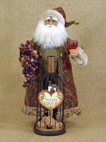 34 Best Wine Santa Images On Pinterest Christmas Ideas