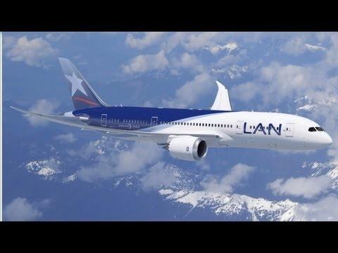 LAN prepares for the Boeing 787 Dreamliner