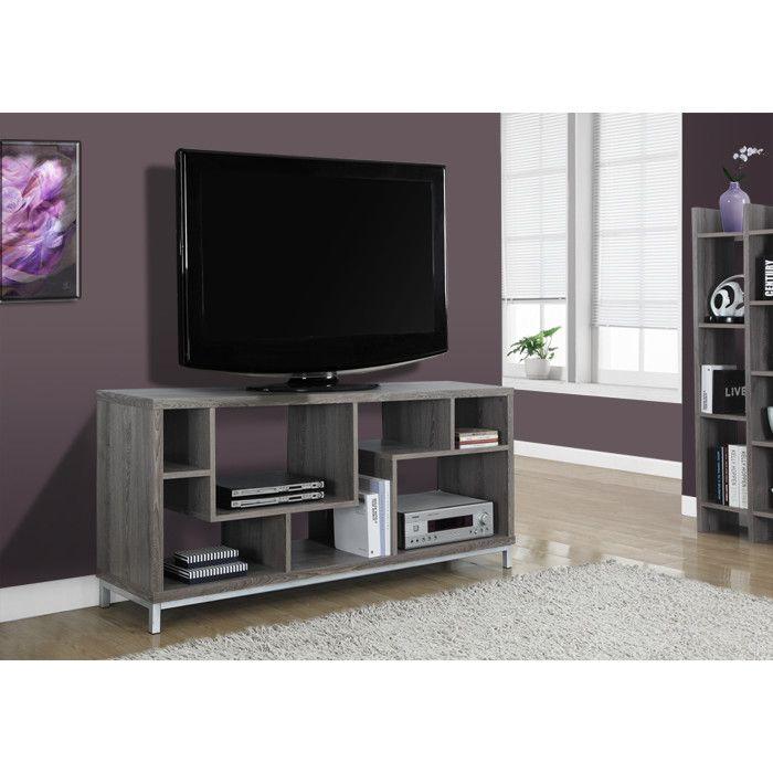 Monarch Specialties Inc. Contemporary TV Stand & Reviews | Wayfair