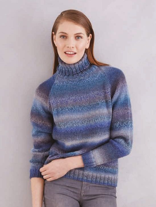 Free Knitting Pattern For Beginners Pullover Breipatrone