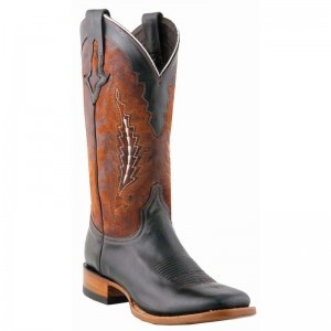 Lucchese Boots Mens El Campo Black Oiled Shoulder Boots - WESTERN BOOTS - BOOTS #lucchese #boots @Baskins Western