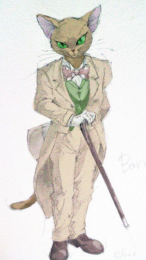 Whisper of the Heart | Hiiragi Aoi | Studio Ghibli / Baron Humbert von Gikkingen / 「バロン・ドール」/「(:hie」のイラスト [pixiv]