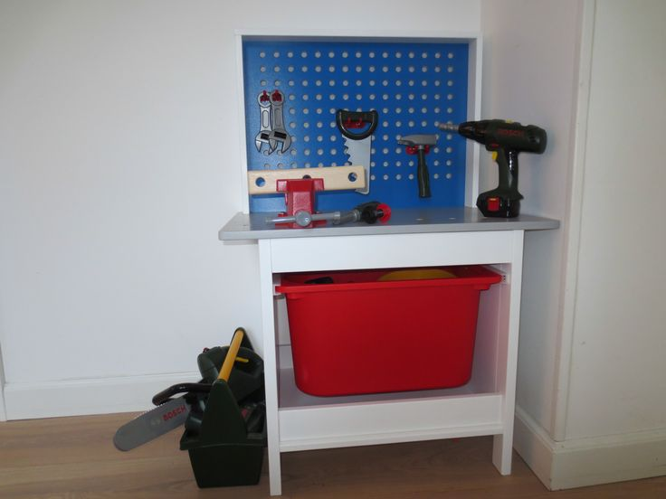 Ikea duktig workbench hack garden den pinterest workbenches ikea and hacks - Duktig tea set ...