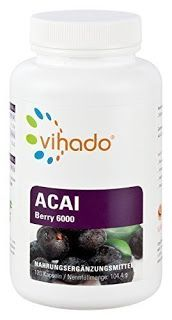 Produkttests und mehr: Vihado Acai Berry MAX 6000 Premium - Original Acai...