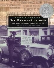 Cover of: Six days in October by Karen Blumenthal