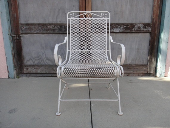 White Iron Patio Furniture 26 best 1950's patio furniture images on pinterest | outdoor