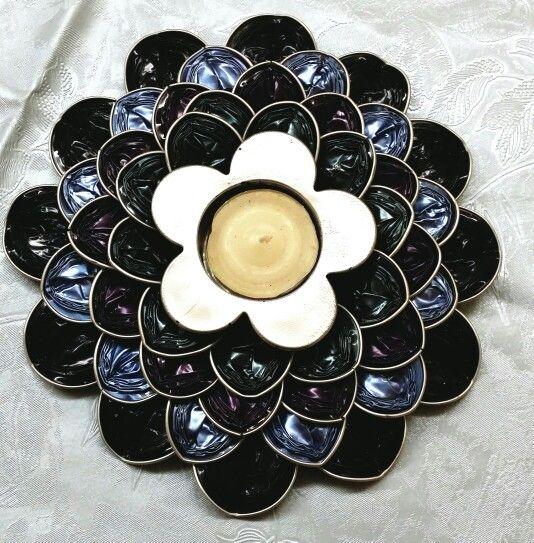 224 best images about objets en capsules nespresso on - Objet fait avec des capsules nespresso ...