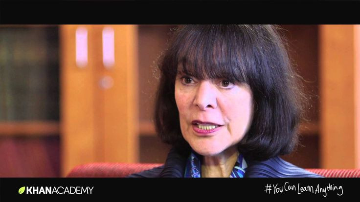 """The Growth Mindset - Sal Khan of the Khan Academy interviews Dr. Carol Dweck who coined the term """"growth mindset.""""  This video shows the feedback that teachers and parents can give students to encourage them to learn and succeed.  Hint:  It may be different than you would think."""
