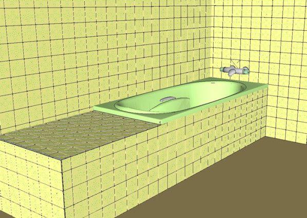 Dans cet article illustré en images 3D, je vais vous démontrer et vous expliquer, comment personnellement je procède pour installer et habiller une Baignoire. Que l'on travaille dans une construction nouvelle ou dans une rénovation, la procédure est la...