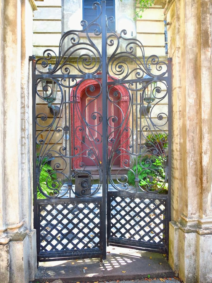 Wrought Iron Gates: 17 Best Images About Privacy Gates On Pinterest