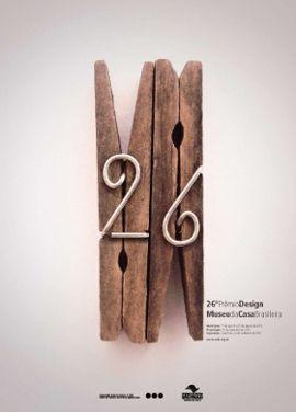 Concurso do Cartaz 26º Prêmio Design - Gabriela Mombach e Casemiro Estanislau Grabias Junior