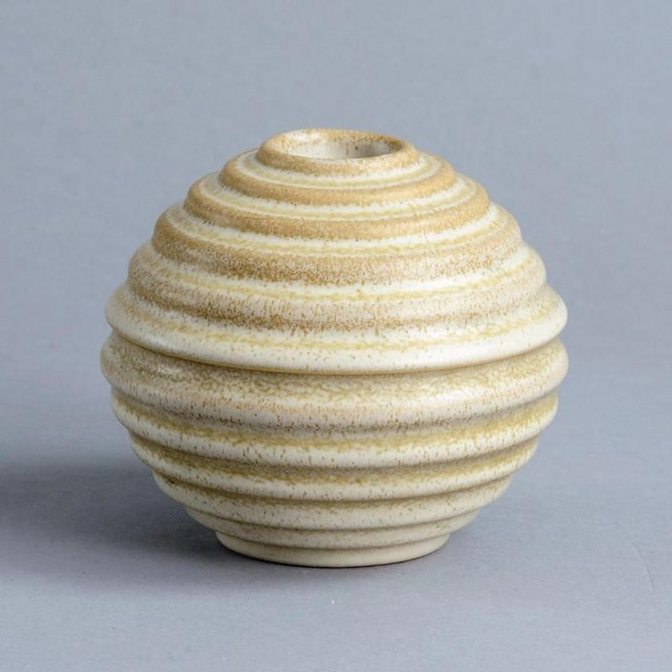 Earthenware vase by Ewald Dahlskog