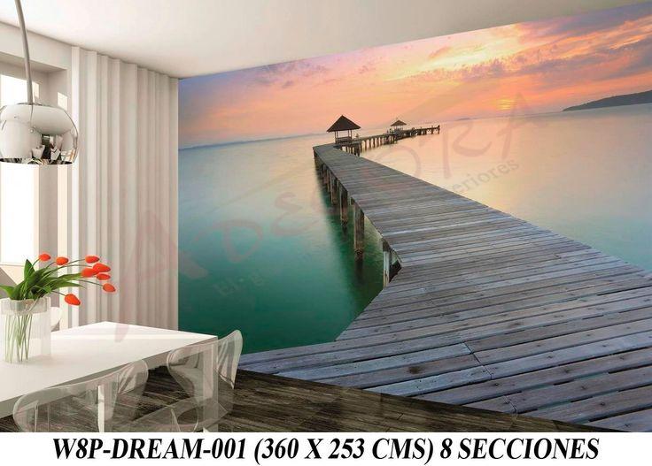M s de 25 ideas incre bles sobre murales decorativos en - Medidor de habitaciones ...