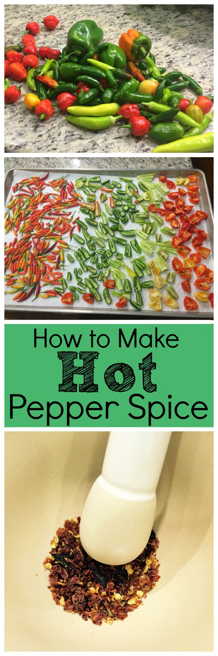 Want something hot in your kitchen that will last? Here's how to make hot pepper spice mix with my drying method, which will fire you up.