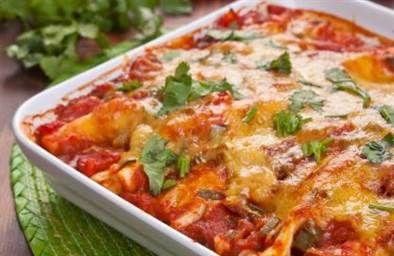Joy Bauer's low-calorie slow-cooker chicken enchiladas are super easy