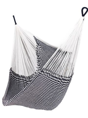 Vineyard Haven Hanging Chair They also have a design your own choice! -via Yellow Leaf Hammocks