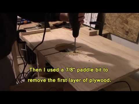 Quick and Easy Router Table - YouTube