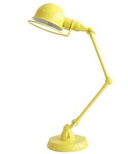 adjustable desk lamp yellow - retro desk lamp, retro adjustable desk lamp, ... - Green with Envy