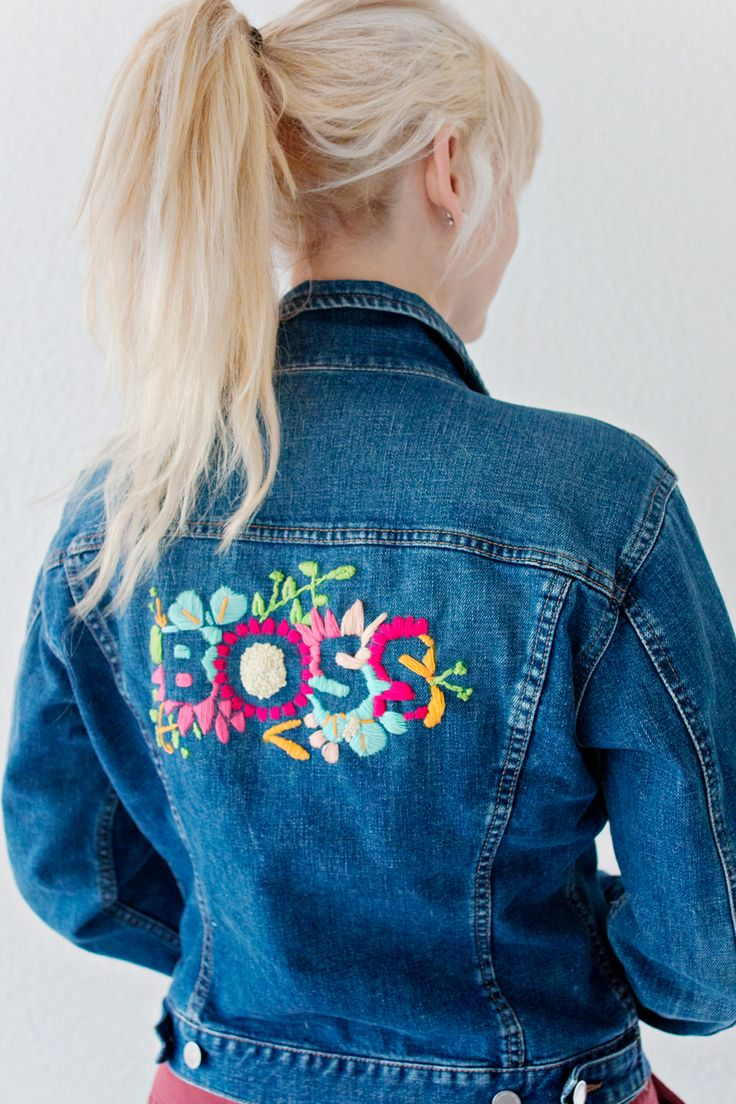 best 25+ embroidered denim jacket ideas on pinterest   denim