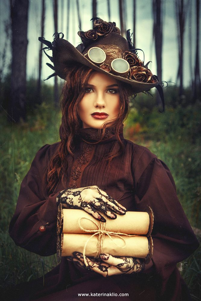 - steampunktendencies: Photographies by Katerina...