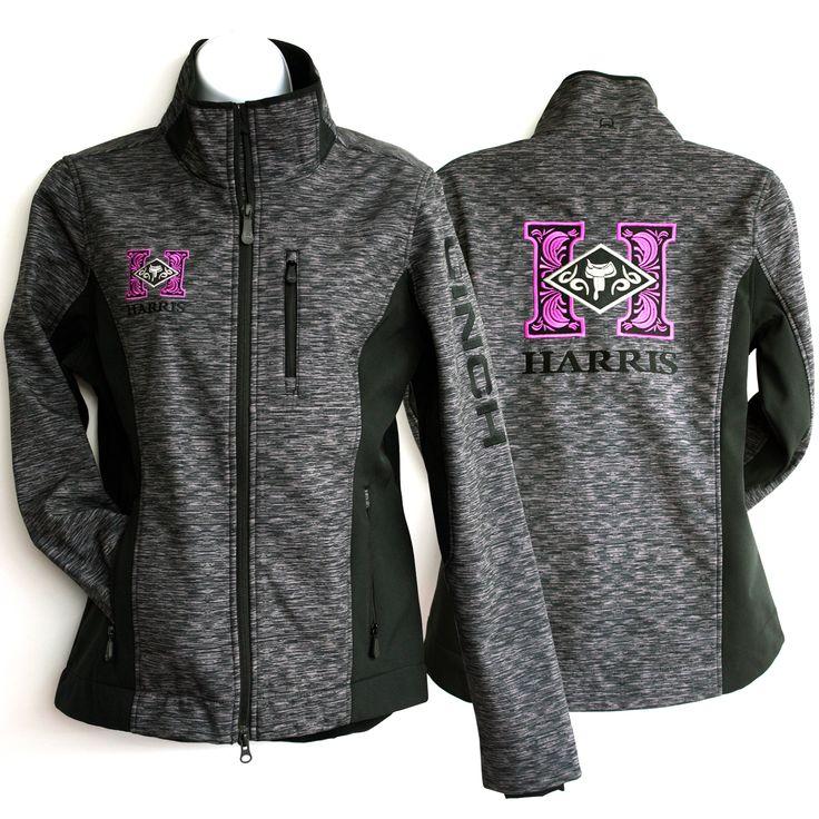 Cinch leather jacket