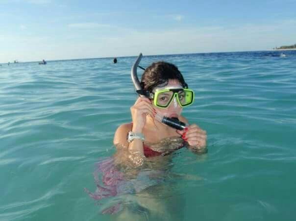 Blue ocean around lombok