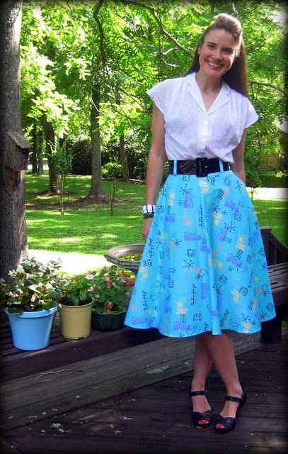 Pin Up Girl Clothing skirt