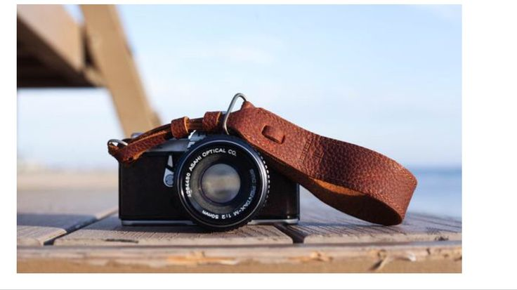 True Brown Leather Wrist Camera Strap for DSLR or SLR camera, DSLR Camera Strap. Camera accessories. Canon camera strap. Nikon camera strap.